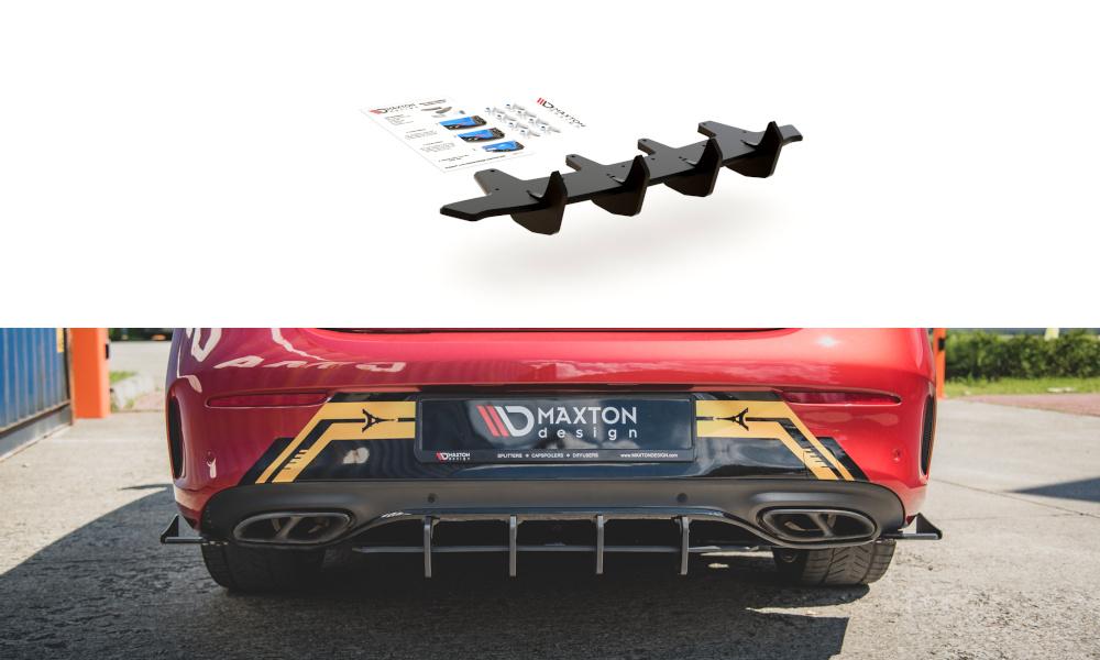 DYFUZOR TYLNY RACING DURABILITY MERCEDES-AMG C43 COUPE C205 - GRUBYGARAGE - Sklep Tuningowy